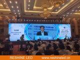 Reshine P3.91 sterben Innenbildschirm der Gussaluminium-farbenreichen Miete-LED