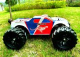 ESC Brushless Electric RC Car 2.4GHz 1/10th van Metal van chassis 80A--Rood