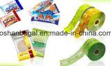 A fruta lasca a máquina de embalagem Semi automática cheia de Horizonta do aço de Staniless do saco do alimento do petisco