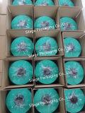 Película fundida Anti-UV forte do envoltório da ensilagem da cor verde/película da ensilagem da película envoltório da bala