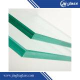 стекло 10.38mm Tempered зеленое прокатанное