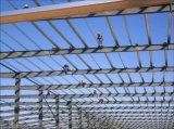 Construction légère d'atelier de cloche de construction préfabriquée de bâti en acier
