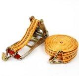 Хлестать храповика груза волокна полиэфира автомобиля/автомобиля/тележки высокого качества Ribbed