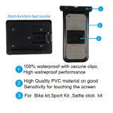 Impermeable de plástico de la bolsa del teléfono celular bolsa impermeable para el teléfono móvil