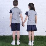 Kundenspezifische Schule-Polo-Hemd-und Kurzschluss-Sets