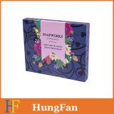 Boîte cadeau en papier à structure simple / boîte à papier promotionnelle pour emballage cadeau