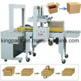 Automatische Karton-Kasten-Dichtungs-Maschine und Karton-Kasten, der Zeile gurtet