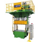 Double commande numérique par ordinateur Four-Column Hydraulic Press Machine d'Acting Tons 1000 pour Making Aluminum Forming