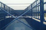 estaca de 3-Axles los 40FT altos/de la cerca acoplado laterales resistentes semi con 3 gradas