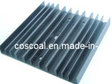 Perfil de alumínio do OEM para o dissipador de calor com Drilling&Black anodizado