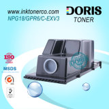 Npg18 Gpr6 Npg-18 Gpr-6 C-Exv3 C Exv3 per il toner IR 2200 2220n 2220 della m/c di Canon 2800 3300
