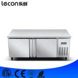 Refrigerador comercial da cozinha da tabela de trabalho