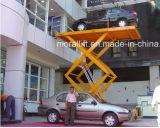 O CE certificated a capacidade de carregamento pesada hidráulica scissor a plataforma do elevador