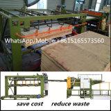 La BV pasa la chapa automática de la base de la madera contrachapada de la maquinaria de carpintería que articula la máquina