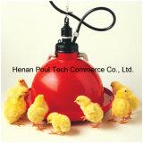 Bebedor plástico da galinha da tecnologia de Poul