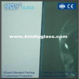 青銅、緑、青、灰色、ピンクの反射ガラス