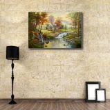 100%のハンドメイドのキャンバスオイルの絵画古典的な景色
