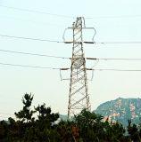Башня передачи решетки 220 Kv с двойной цепью