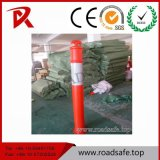 Движение предупреждая пал T-Верхней части столба Delineator столба PE знака 1100mm отражательный предупреждающий
