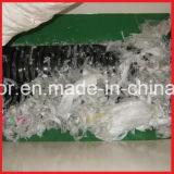 二重シャフトのプラスチックびんまたは編まれた袋または不用な布の粉砕機
