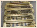 Barandillas de andamiaje giratorio galvanizado para la construcción