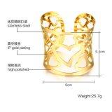 De populaire Gouden Holle Armbanden van de Juwelen van de Armband van de Manier van de Liefde