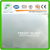vetro di vetro della stanza da bagno inciso acido di vetro glassato della radura di 8mm
