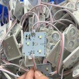 렌즈 백색 SMD LED를 가진 정연한 주입 모듈 3 LED 칩