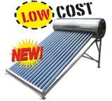 Il collettore a energia solare pressurizzato ad alta pressione del riscaldatore di acqua della valvola elettronica dell'acciaio inossidabile, 200L ha pressurizzato il collettore solare del riscaldatore di acqua