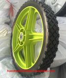 """rotella di plastica 12 """" X2 """" per il carrello della mano e la riga della barra di rotella"""