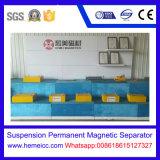 ベルト・コンベヤーのための中断常置磁気分離器