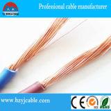 Fil électrique avec l'isolation de PVC, fil de CCA, fil plat (AU-DELÀ DE LA PORTÉE OPTIQUE)