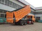 De Vrachtwagen van de Stortplaats van het Merk 40tons van Sinotruk of de Vrachtwagen van de Kipper