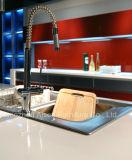 Compartiment lustré rouge de cuisine de Module de cuisine de forces de défense principale de laque de mode