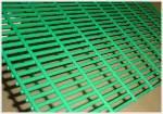 Barrière de fil soudée enduite par vinyle