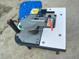携帯用曲げられたまっすぐな端のバンディング機械木工業の端Bander