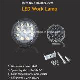 Hotsale 4X4 플러드 또는 반점 광속을%s 가진 Offroad 27W LED 일 램프