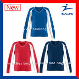 Sublimation-Druck-Volleyball-Team-Uniformen