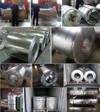 la latta del materiale di tetto di 0.12mm-3.0mm Dx51d PPGI ha galvanizzato la bobina d'acciaio