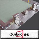 El panel de acceso de aluminio con la tarjeta de yeso AP7730