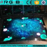 Neues Berufsstadium, das beweglichen Bildschirm Dance Floor LED-P6.25 beleuchtet