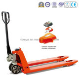 2t Scale Hand Pallet Truck