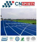 Trilha Running de borracha/pista de decolagem do SPU do nó do auto para o campo de esportes