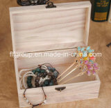 Caixa de presente de madeira delicada quente do preço do competidor da venda