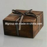 Rectángulo de regalo de madera delicado caliente del precio competitivo de la venta