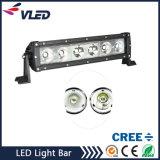60W escolhem o CREE da barra clara do diodo emissor de luz da fileira para o caminhão do Wrangler do jipe