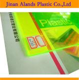 el plexiglás transparente y coloreado de 3m m cubre 1220X2440 1220X1830m m