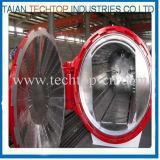 2500X6000mm 스포츠 장비 필드에 있는 CE/Asme/UL에 의하여 증명되는 중국 탄소 섬유 오토클레이브