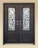 Hand-Crafted Sicherheits-bearbeitetes Eisen-Haustüren für Haus