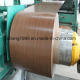 PPGI с деревянной конструкцией с высоким качеством в толщине 0.18~0.8mm
